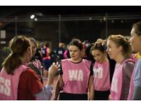 Back to Netball Sessions in 2018