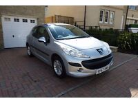 Peugeot 207 that's in very good and clean condition.