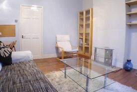 1 DOUBLE BED GARDEN flat in PERIOD CONVERSION and with SEPARATE KITCHEN DINER and REAL WOOD FLOORS