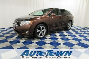 2011 Toyota Venza V6 AWD/SUNROOF/REAR CAM/LEATHER INT