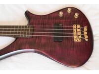 Warwick Fortress 1 bass guitar + gig bag