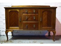 Queen Anne Style Sideboard (DELIVERY AVAILABLE)