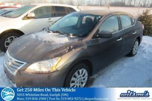 2014 Nissan Sentra S AUTOMATIC! CRUISE CONTROL! POWER PACKAGE! K