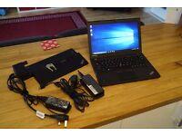 Lenovo x250 Ultrabook ThinkPad Core i5 bundle with dockstation, 660 days warranty and Windows 10 Pro