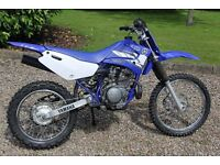 Yamaha TTR125L off road motorbike