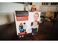 Boxed - Used Twice. Mamas & Papas Classic Baby Carrier