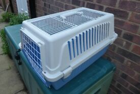 Ferplast Cat / Small Dog / Pet Carrier / Basket with Front or Top Opening, 58 x 37 x 32 cm. Histon