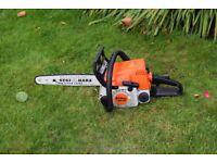 stihl 180 2 stroke petrol chainsaw