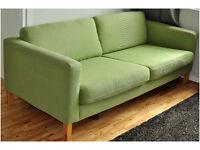 Karlstad IKEA 3 Seater, Green, LARGE Sofa, Good Condition