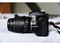 Nikon d3200 with 18mm - 55mm kit lens