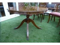 Dining room table and four chairs - collect Brockenhurst