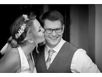 Wedding Videography or Photography by charity donation (£500/£350) Sussex & SE England