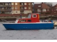 BARGAIN !! BOAT Owen's sea skiff cabin cruiser 25.