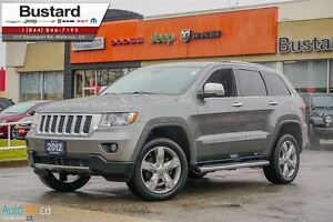 2012 Jeep Grand Cherokee OVERLAND | LEATHER | V6 | PANORAMIC | F