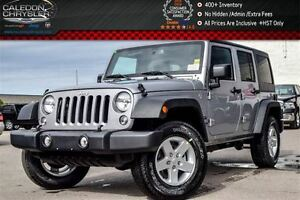 2016 Jeep WRANGLER UNLIMITED New Car Sport|4x4|DualTop|Bluetooth