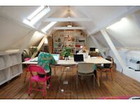Friendly & calm shared workspace in Whitechapel