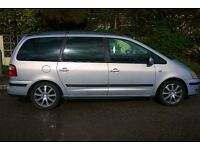 Ford Galaxy Ghia. MPV converted day camper. 7 seats, front swivel, privacy glass, etc. REDUCED PRICE