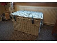 Large Wicker Chest