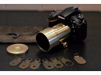 Nikon Lomography Petzval 85mm Portrait Art Lens - Brass