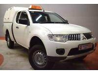 MITSUBISHI L200 2.5 DI-D 4X4 4WORK CLUB CAB -Commercial Spec (white) 2010