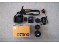 Nikon D7000 16.2 MP DSLR Camera Bundle Kit (Camera + 3 lenses)