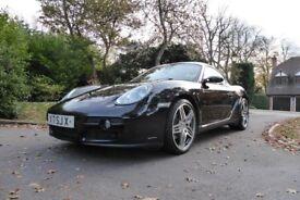 Porsche Cayman S TipTronic Coupe 987 2.7 987 2dr PDK 2008 Black