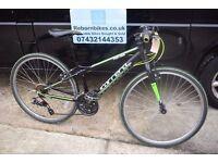"Carrera Abyss Boys Fast Hybrid Bike.13"" Aluminium Frame.21 Speed. Serviced. (23.1)"