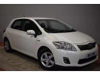 TOYOTA AURIS 1.8 T4 5d AUTO 99 BHP (white) 2012