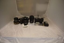 Nikon D300 DSLR Camera Bundle