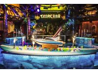 Host / hostess required for Tropicana Beach Club, Covent Garden OTE £10/hr