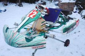 TONY KART EVRR 2012 ROLLING CHASSIS
