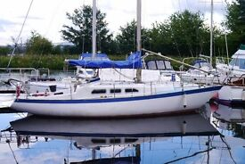 For Sale - 'Tir Na Nog' SHE 9.5m Traveller 31' yacht in good condition