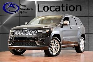 2017 Jeep Grand Cherokee Summit, Location 1 a 12 Mois