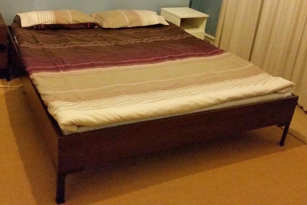ikea king size engan bed frame no mattress united kingdom gumtree