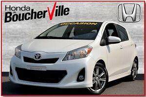 2012 Toyota Yaris SE  TRES BAS Kilometrage
