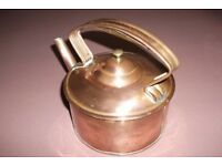 VINTAGE COPPER KETTLE (recently reduced)