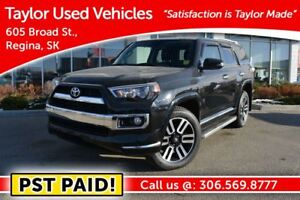 2015 Toyota 4Runner Limited Limited / PST paid
