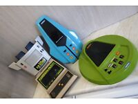 JOBLOT OF FOUR VINTAGE HANDHELD/TABLETOP ELECTRONIC GAMES RETRO 80s GWO L@@K