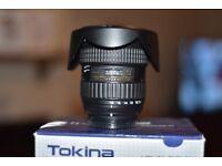 tokina 11-16mm dx 2.8 300£