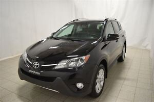 2014 Toyota RAV4 Limited, AWD, Toit Ouvrant, Cuir, Navigation, C