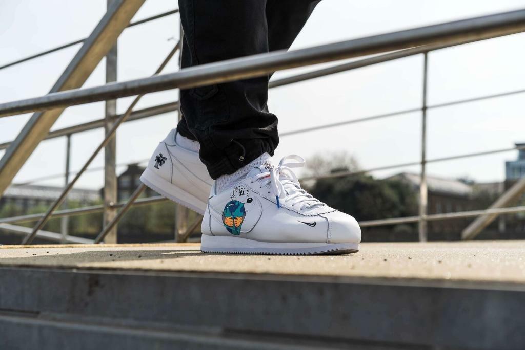 5746551617351 Nike Cortez FlyLeather EarthDay QS 7.5 UK