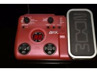 Bass Multi-Effects Pedal Zoom B1X