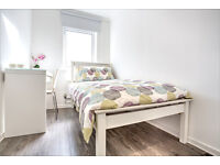 Amazing refurbished single room in Clapham South! Book your viewing now!