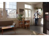 Available desks at beautiful and calm shared workspace near Bethnal Green