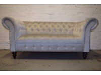 Chesterfield Two Seater Diamante Sofa (DELIVERY AVAILABLE)
