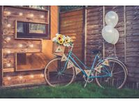 HIRE: BRISTOL VINTAGE WELCOME CEREMONY BIKE FOR WEDDINGS/PARTIES AND EVENTS!
