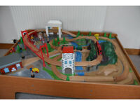 ELC Train Table and Wooden Train set