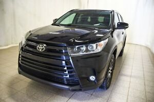 2018 Toyota Highlander SE AWD, Cuir, Navigation, Radio satellite