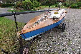 OK dinghy number 679
