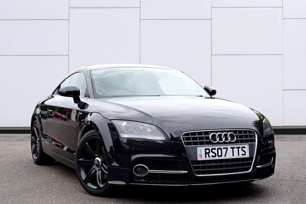 black audi tt mk2 tfsi for sale 7 999 2 0 petrol tts replica black edition private plate. Black Bedroom Furniture Sets. Home Design Ideas